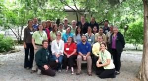 CIT participants at Reedy Creek Nature Center
