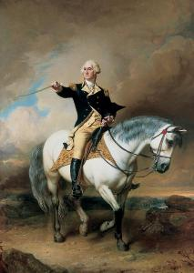 portrait-of-george-washington-taking-the-salute-at-trenton-john-faed