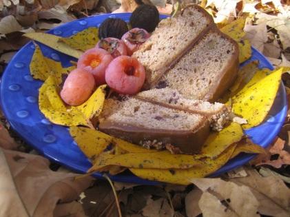 persimmons & bread