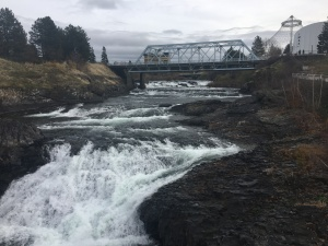 Falls on the Spokane River
