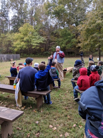 "Storytelling with ""Johnny Appleseed"" from the Kiwanis Club"